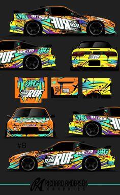 Team RUF Nissan 240z Drift-Spec livery