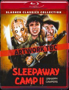 Sleepaway Camp II Blu-ray cover