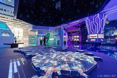 "Exhibition ""Smart City"" on Behance Technology Hacks, Technology Design, Science And Technology, Technology Apple, Computer Technology, Technology Logo, Educational Technology, Interaktives Museum, Technology Background"