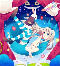 Anime Alice In Wonderland