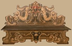 Reproduction of antique Painted Italian Style Furniture
