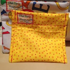 Reusable Snack Bag from The Tiny Human for $4 on Square Market