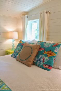 beach house bedroom | Jane Coslick | Doc Holiday Cottage - Tybee Island