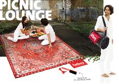 Fatboy Picnic Lounge Picnic Blanket, Outdoor Blanket, Sun Umbrella, Lounge, Beach Mat, How To Become, Area Rugs, Things To Come, Clever