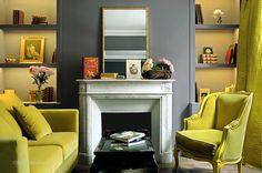 Rincón intimo con diseño simple y elegante