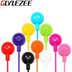 $0.99 (Buy here: https://alitems.com/g/1e8d114494ebda23ff8b16525dc3e8/?i=5&ulp=https%3A%2F%2Fwww.aliexpress.com%2Fitem%2FNew-10-color-Colorful-Fruit-Smiling-Headphone-Smile-Cute-3-5mm-Jack-Face-Headset-in-ear%2F32571502569.html ) Glylezee Smiling Face Earphone Earpieces 3.5MM In-Ear Noise Cancelling Headset for Mobile Phone MP3 Music Player for just $0.99