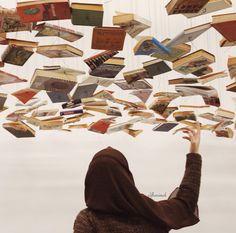 Girl Reading Book, Reading Art, Book Wallpaper, Islamic Wallpaper, Hijabi Girl, Girl Hijab, Beautiful Girl Image, Beautiful Hijab, Best Profile Pictures