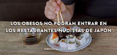 Los obesos no podrán entrar en los restaurantes nudistas de Japón  Japón es el país del grupo de los desarrollados con menor índice de población obesa. Son tan meticulosos con este tema que de hecho han prohibido la entrada a su primer restaurante nudista a las personas obesas. #Alimentación #ComidaSaludable #Experiencias #Japones #nudistas #Restaurante…