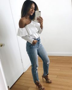 Women S Fashion Clearance Sale Basic Outfits, Fall Outfits, Casual Outfits, Cute Outfits, Fashion Outfits, Womens Fashion, Fashion 2018, Daytime Date Outfit, Summer Outfit