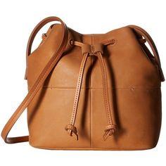 ECCO Handa Medium Crossbody (Lion) Cross Body Handbags ($260) ❤ liked on Polyvore featuring bags, handbags, shoulder bags, purse crossbody, crossbody purse, leather crossbody, handbags crossbody and leather crossbody handbags