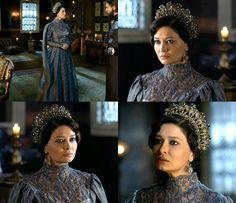muhtesem yuzyil kosem, kosem sultan, crown, costume