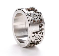 Gear Ring by Kinekt-this is killer...