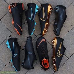 These are more beautiful than most people I know. Cool Football Boots, Soccer Boots, Football Shoes, Football Cleats, Soccer Gear, Nike Soccer, Soccer Stuff, Football Stuff, Mbappe Psg