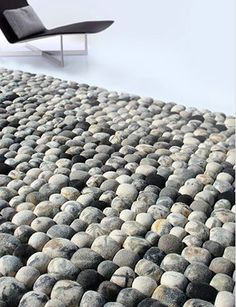 This Pebble Rug is so realistic yet unbelievably soft.