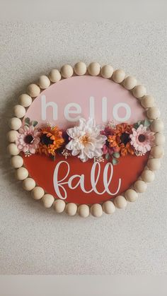 Fall Home Decor, Autumn Home, Diy Home Decor, Holiday Decor, Holiday Ideas, Fall Crafts, Diy And Crafts, Arts And Crafts, Front Door Signs