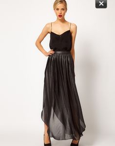 Love this cascading skirt!