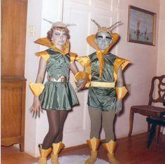 Disfraz viajeros del espacio