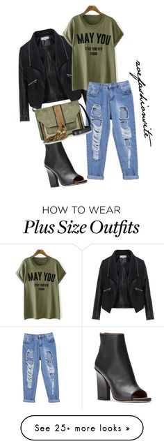 """""""Untitled #160"""" by zoefashionsite on Polyvore featuring Zizzi and L'Autre Chose"""