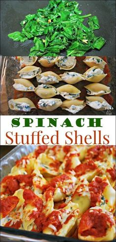 Have a picky eater who will not touch veggies? Try this recipe for Spinach Stuffed Shells and get kids to try spinach in a familiar dish The post Have a picky eater who will not touch veggies? Try… appeared first on Garden ideas - Health and fitness Vegetarian Meals For Kids, Kids Cooking Recipes, Vegetarian Recipes Easy, Healthy Meals For Kids, Healthy Meal Prep, Veggie Recipes, Healthy Snacks, Healthy Recipes, Jello Recipes