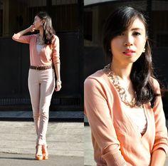 Melon Orange Heels, Pink Pants, Sammy Dress, Pastel Pink, Nice, Day, Style, Swag, Pink Trousers