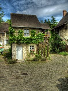 Village of Giverny, Normandy