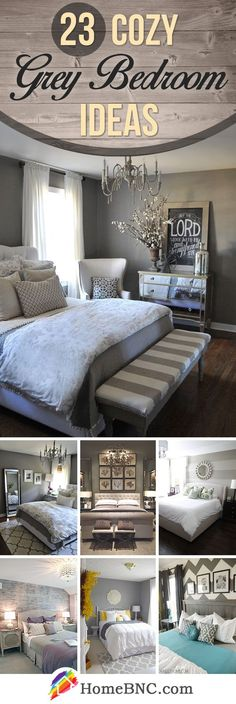 Gorgeous Gray-and-White Bedrooms in 2018 | bedrooms ...