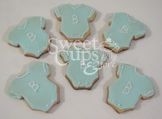 Cookies Bodies para el Baby Shower de Benjamín