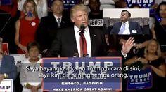 Apa pendapat Jusuf Kalla jika Donald Trump menang?