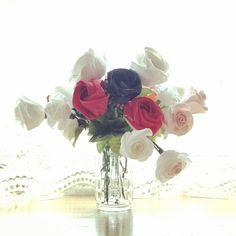 紙の花 和紙 折り紙 washi orizuru rose