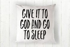 These throw pillows are 100% made - cut, sewn and printed - right here in US. 18 x 18 Includes Pillow fill. . . . . . . . . . . . . . . . . . . . . . Instagram @godthencoffee Visit our website: www.go