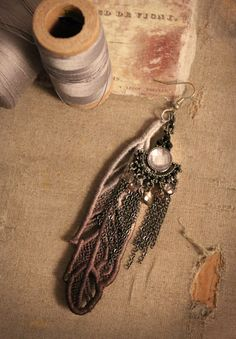 The Evenfall Lace Series from Urban Threads - Making machine embroidery magic. Embroidery Applique, Machine Embroidery, Hope Is The Thing With Feathers, Ladies Who Lunch, Urban Threads, Making Machine, Steampunk Clothing, Lace Making, Jewelries