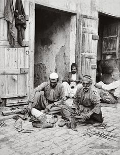 Syria Damascus Sharpening Sickles: 1900-1920