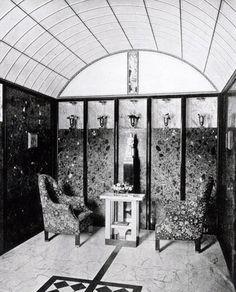 Josef Hoffmann - Palais Stoclet - Bruxelles - 1905-11 - Intérieurs