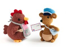A letter for mama Hen… Would one of her little chicks have...