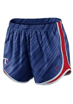 Texas Rangers Nike Womens Blue Dri-FIT Tempo Short http://www.rallyhouse.com/shop/texas-rangers-nike-texas-rangers-nike-womens-blue-drifit-tempo-short-12517233?utm_source=pinterest&utm_medium=social&utm_campaign=Pinterest-TexasRangers $38.00
