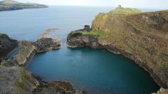 Uncover the industrial ancestry of the Blue Lagoon © National Trust / Andrew Tuddenham Wales Holiday, Pembrokeshire Coast, Blue Lagoon, Ancestry, Playground, Coastal, Industrial, National Trust, Adventure