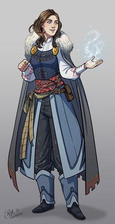Dnd Character by Boa Illustration Fantasy Character Design, Character Creation, Character Design Inspiration, Character Art, Female Character Concept, Character Portraits, Character Outfits, D D Characters, Fantasy Characters