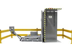 The G95 Pallet Inverter or Pallet Retriever style of transfer system was first developed in the mid 1980's for use in cold storages, blast freezing warehouses or distribution related facilities exporting product. It was designed as an alternative to the conventional 180° Pallet Inverter, which did not offer ground loading or pallet separation capabilities at the time which later became an industry standard. With that, the G95 Pallet Exchange / Pallet Retriever was developed. Warehouses, Drafting Desk, Pallet, Alternative, Cold, Storage, Design, Style, Pole Barns