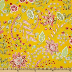 Pretty Little Things Emma Floral Yellow. So cheery!