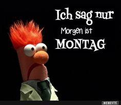 Morgen Ist Montag Lustig