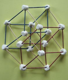Almost Unschoolers: Summer Fun 2014 - Marshamallow and Toothpick Geometry - Finding the Cubes in a Hypercube Homeschool High School, Homeschool Math, Teaching Tips, Teaching Math, Maths, Math Games, Math Activities, Math Books, Grad Parties