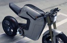 Prototipo de motocicleta eléctrica Bolt de 'Springtime Industrial Design'