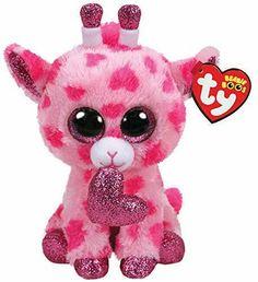 9442d369fb9 TY Beanie Boos Sweetums - Valentine Giraffe (Regular Size - 6 inch) 36660
