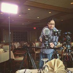 @emerginglightmedia using an ikan LED panel on a shoot! :star::star::star: #ikan #filmmaking #filmlife #setlife #ikancorp #lighting #lights #production #gear #equipment