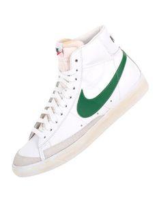 Women's Nike blazer mid vintage Gris Baskets in Gris vintage Chaussures Pinterest ce2374