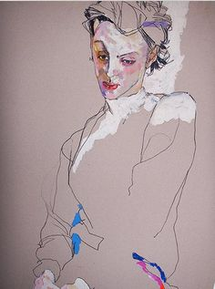 Clothing designer, artist and teacher, Howard Tangye gives us a cool look at models.