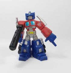 Transformers - Mini Toy Action Figure - Robot Heroes - Cake Topper - Hasbro 13