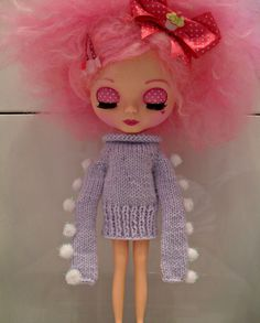 Blythe Doll (Pollymakes) Monster style Sweater