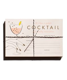 Set of 12 Cocktail Recipe Cards. About Garance Doré is an illustrator, photographer and fashion blogger. Her illustration talent has allowed her to collaborate creatively with Vogue Paris, Dior, Chopa
