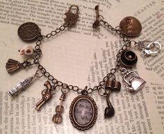Sherlock Holmes bracelet (2) on Etsy, £10.00